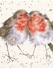 Wrendale Birds of a Feather Card