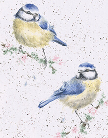 Wrendale Blossom Card