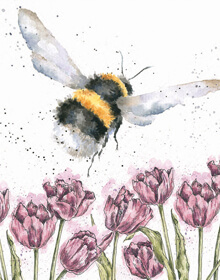 Wrendale The Flight of the Bumble Bee Card