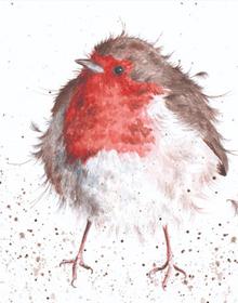 Wrendale The Jolly Robin Card