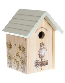 Wrendale Bird House – Sparrow